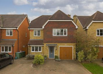 Thumbnail 4 bed detached house for sale in Manor Road North, Hinchley Wood, Esher