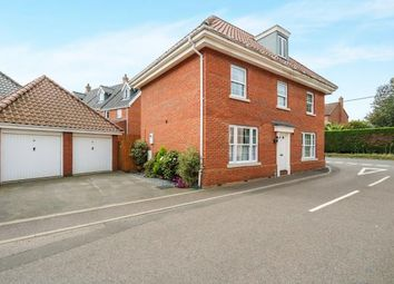 Thumbnail 4 bed detached house for sale in Kenninghall, Norwich