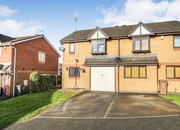 Thumbnail 3 bedroom semi-detached house for sale in Wensleydale Close, Stoke-On-Trent