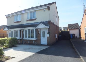 Thumbnail 3 bedroom semi-detached house to rent in Wokingham Grove, Huyton, Liverpool