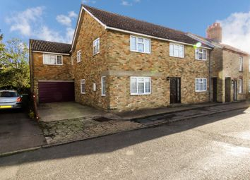 Thumbnail 4 bed semi-detached house for sale in The Green, Eltisley, St. Neots