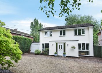 Thumbnail 4 bedroom detached house for sale in Reading Road, Finchampstead, Berkshire
