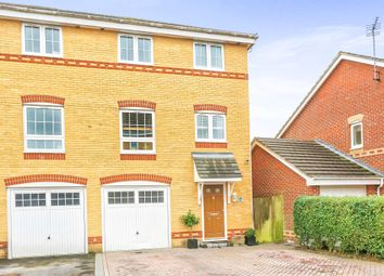 Thumbnail 4 bedroom town house for sale in Herriard Place, Beggarwood, Basingstoke