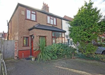 Thumbnail 3 bed semi-detached house for sale in Queens Road, Crosby, Liverpool