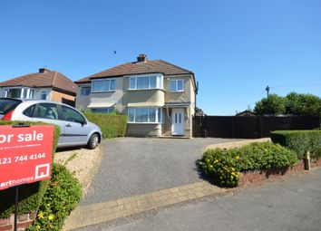 Thumbnail 3 bed semi-detached house for sale in Pierce Avenue, Solihull