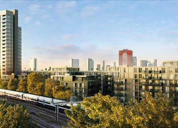 Thumbnail 3 bed flat for sale in Cobalt Tower, Arklow Road, London