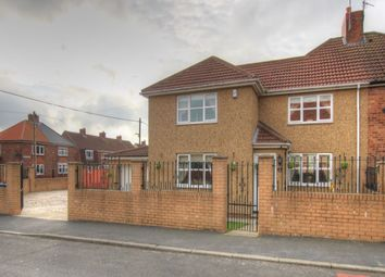 Thumbnail 4 bed semi-detached house for sale in Jack Lawson Terrace, Wheatley Hill, Durham