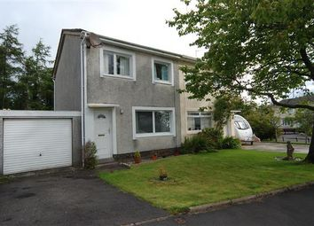 Thumbnail 3 bed semi-detached house for sale in Loudon Crescent, Kilwinning