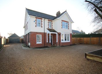 Thumbnail 4 bed detached house for sale in London Road, Attleborough