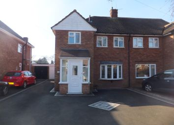 Thumbnail 3 bed semi-detached house to rent in Roughley Drive, Four Oaks, Sutton Coldfield