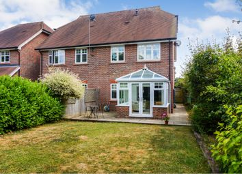 Thumbnail 3 bed semi-detached house for sale in Farthings Walk, Horsham