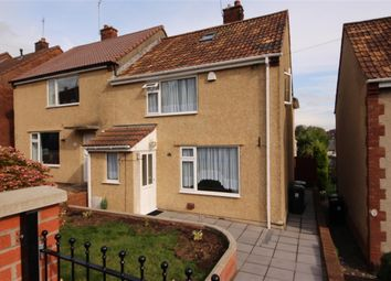 Thumbnail End terrace house to rent in Almond Way, Downend, Bristol