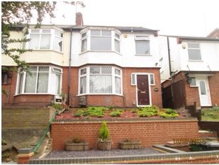 Thumbnail 4 bed semi-detached house to rent in Park Street, Luton