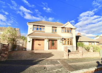 Thumbnail 4 bed detached house for sale in Greenway, Romford