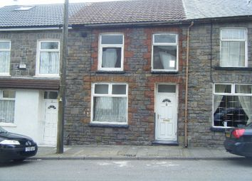 Thumbnail 3 bedroom terraced house to rent in Court Street, Tonypandy, Rhondda Cynon Taff.