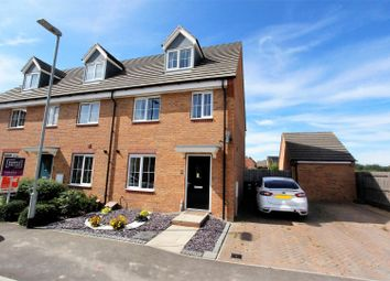 Thumbnail 3 bed semi-detached house for sale in Fontwell Park Drive, Bourne