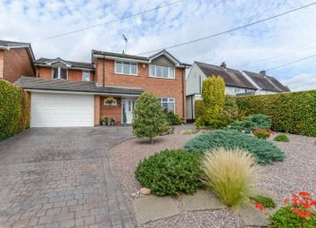Thumbnail 4 bed detached house for sale in Whitgreave Lane, Great Bridgeford, Nr Eccleshall