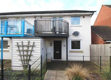 Thumbnail 1 bed town house for sale in Brompton Road, Hamilton, Leicester