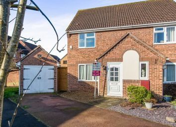 Thumbnail 2 bedroom semi-detached house for sale in St Marys Grove, Sprowston, Norwich