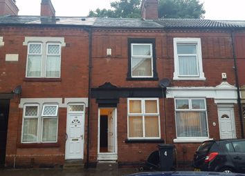 Thumbnail 3 bedroom terraced house to rent in Halstead Street, Leicester