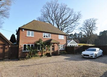 Thumbnail 4 bed detached house for sale in The Crescent, Ashurst, Southampton
