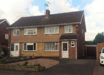Thumbnail 3 bed semi-detached house for sale in Laurel Road, Blaby, Leicestershire