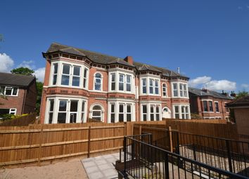 Thumbnail 2 bed flat to rent in Ebury Road, Nottingham