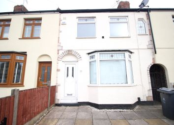 Thumbnail 3 bed shared accommodation to rent in Gentwood Road, Liverpool, Merseyside