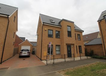 Thumbnail 4 bed detached house for sale in Ellerman Square, Brooklands, Milton Keynes, Buckinghamshire