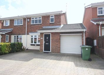 Thumbnail 3 bed semi-detached house for sale in The Cheyne, Thristley Wood, Sunderland