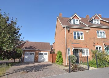 Thumbnail 3 bed semi-detached house for sale in Hawkley Way, Fleet