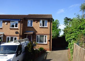 Thumbnail 3 bed end terrace house for sale in Lipscombe Drive, Flitwick, Bedford, Bedfordshire