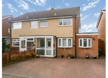 Thumbnail 4 bed semi-detached house for sale in Shawhurst Lane, Hollywood, Birmingham