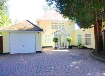 Thumbnail 4 bed detached house for sale in Burton Road, Branksome Park, Poole
