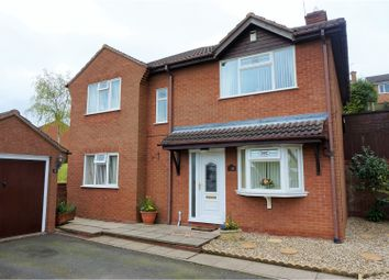 Thumbnail 3 bed detached house for sale in Hogan Way, Stafford