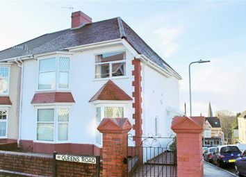 Thumbnail 3 bedroom semi-detached house for sale in Queens Road, Sketty, Swansea