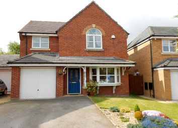 Thumbnail 4 bed detached house for sale in St. Giles Park, Gwersyllt, Wrexham