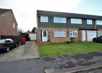 Thumbnail 3 bed semi-detached house for sale in Kentwood Close, Tilehurst, Reading, Berkshire