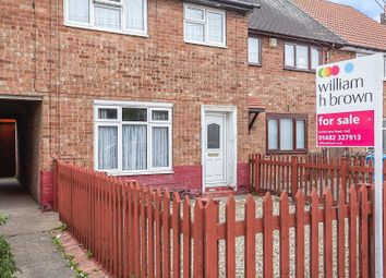 Thumbnail 3 bed terraced house for sale in Brodsworth Street, Hull