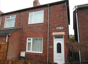 Thumbnail 2 bedroom terraced house to rent in Ariel Street, Ashington