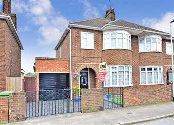 Thumbnail 3 bed semi-detached house for sale in St. Helens Road, Sheerness, Kent
