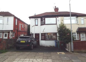 Thumbnail 3 bed semi-detached house for sale in St. Austells Drive, Prestwich, Manchester, Greater Manchester