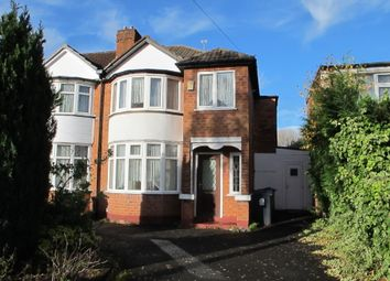 Thumbnail 3 bed semi-detached house for sale in Cranes Park Road, Sheldon, Birmingham