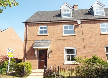 Thumbnail 4 bed property to rent in Deykin Road, Lichfield