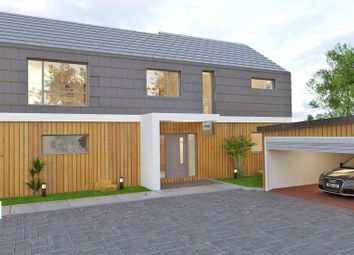 Thumbnail 4 bedroom detached house for sale in Bickleigh Down Road, Roborough, Plymouth