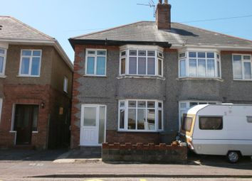 Thumbnail 3 bedroom semi-detached house to rent in Luther Road, Bournemouth, Dorset