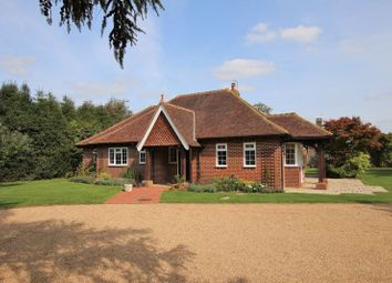Sweetwater Lane, Shamley Green, Guildford GU5. 3 bed detached bungalow