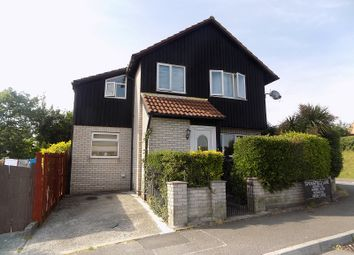 Thumbnail 3 bed detached house for sale in Springfield Lane, Brackla, Bridgend.
