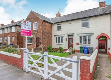 Thumbnail 3 bed terraced house for sale in Doncaster Lane, Woodlands, Doncaster