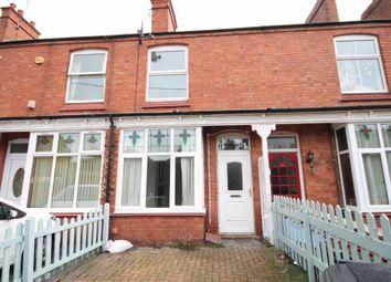 Thumbnail 2 bed terraced house for sale in Grosvenor Road, Market Drayton